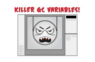 Killer Gas Chromatography variables